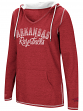 "Arkansas Razorbacks Women's NCAA ""Scream It"" V-neck Hooded Sweatshirt"