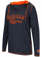"Auburn Tigers Women's NCAA ""Scream It"" V-neck Hooded Sweatshirt"