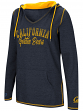 "California Golden Bears Women's NCAA ""Scream It"" V-neck Hooded Sweatshirt"
