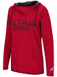 "Utah Utes Women's NCAA ""Scream It"" V-neck Hooded Sweatshirt"