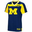 "Michigan Wolverines Women's NCAA ""My Agent"" Fashion Football Jersey"