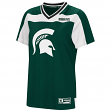 "Michigan State Spartans Women's NCAA ""My Agent"" Fashion Football Jersey"