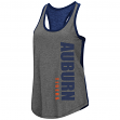 "Auburn Tigers Women's NCAA ""Share It"" Dual Blend Racer Back Tank Top"