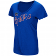"Florida Gators Women's NCAA ""Big Sweet'"" Dual Blend V-neck T-Shirt"