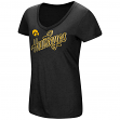"Iowa Hawkeyes Women's NCAA ""Big Sweet'"" Dual Blend V-neck T-Shirt"