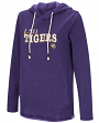 "LSU Tigers Women's NCAA ""The Journey"" Burnout Pullover Hooded Sweatshirt"
