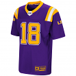 "LSU Tigers NCAA ""Double Reverse Play "" Youth Football Jersey"