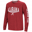 "Alabama Crimson Tide NCAA ""Touchdown"" Youth Dual Blend Long Sleeve T-Shirt"