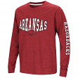 "Arkansas Razorbacks NCAA ""Touchdown"" Youth Dual Blend Long Sleeve T-Shirt"