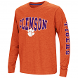"Clemson Tigers NCAA ""Touchdown"" Youth Dual Blend Long Sleeve T-Shirt"