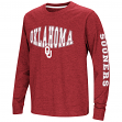 "Oklahoma Sooners NCAA ""Touchdown"" Youth Dual Blend Long Sleeve T-Shirt"