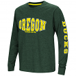 "Oregon Ducks NCAA ""Touchdown"" Youth Dual Blend Long Sleeve T-Shirt"
