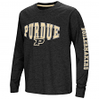 """Purdue Boilermakers NCAA """"Touchdown"""" Youth Dual Blend Long Sleeve T-Shirt"""