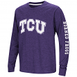 "TCU Horned Frogs NCAA ""Touchdown"" Youth Dual Blend Long Sleeve T-Shirt"