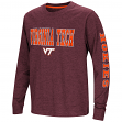 "Virginia Tech Hokies NCAA ""Touchdown"" Youth Dual Blend Long Sleeve T-Shirt"