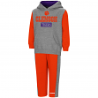 "Clemson Tigers NCAA Toddler ""Teamwork"" Fleece Hoodie and Pants Set"
