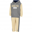 "Georgia Tech Yellowjackets NCAA Toddler ""Teamwork"" Fleece Hoodie and Pants Set"