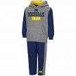 "Michigan Wolverines NCAA Toddler ""Teamwork"" Fleece Hoodie and Pants Set"