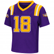 "LSU Tigers NCAA ""Double Reverse Play "" Toddler Football Jersey"