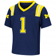"Michigan Wolverines NCAA ""Double Reverse Play "" Toddler Football Jersey"