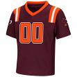 "Virginia Tech Hokies NCAA ""Double Reverse Play "" Toddler Football Jersey"