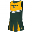 "Baylor Bears NCAA Toddler ""Pom Pom"" 2 Piece Set Cheerleader Outfit"