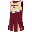 "Florida State Seminoles NCAA Toddler ""Pom Pom"" 2 Piece Set Cheerleader Outfit"