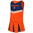 "Syracuse Orange NCAA Toddler ""Pom Pom"" 2 Piece Set Cheerleader Outfit"