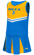"UCLA Bruins NCAA Toddler ""Pom Pom"" 2 Piece Set Cheerleader Outfit"