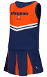 "Virginia Cavaliers NCAA Toddler ""Pom Pom"" 2 Piece Set Cheerleader Outfit"