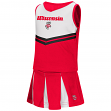 "Wisconsin Badgers NCAA Toddler ""Pom Pom"" 2 Piece Set Cheerleader Outfit"