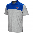 "Florida Gators NCAA ""Clear Sailing"" Men's Performance Woven Polo Shirt"