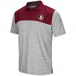 "Florida State Seminoles NCAA ""Clear Sailing"" Men's Performance Woven Polo Shirt"