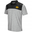 "Iowa Hawkeyes NCAA ""Clear Sailing"" Men's Performance Woven Polo Shirt"