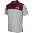 Mississippi State Bulldogs NCAA Clear Sailing Men's Performance Woven Polo Shirt