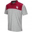 "Oklahoma Sooners NCAA ""Clear Sailing"" Men's Performance Woven Polo Shirt"
