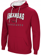 "Arkansas Razorbacks NCAA ""Playbook"" Pullover Hooded Men's Sweatshirt - Red"