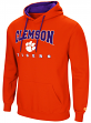 "Clemson Tigers NCAA ""Playbook"" Pullover Hooded Men's Sweatshirt - Orange"
