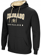 "Colorado Buffaloes NCAA ""Playbook"" Pullover Hooded Men's Sweatshirt - Black"