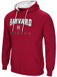 Harvard Crimson NCAA Playbook Pullover Hooded Men's Sweatshirt - Red