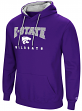 "Kansas State Wildcats NCAA ""Playbook"" Pullover Hooded Men's Sweatshirt - Purple"