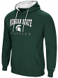 Michigan State Spartans NCAA Playbook Pullover Hooded Men's Sweatshirt - Green