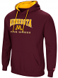 "Minnesota Golden Gophers NCAA ""Playbook"" Pullover Hooded Men's Maroon Sweatshirt"
