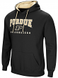 "Purdue Boilermakers NCAA ""Playbook"" Pullover Hooded Men's Sweatshirt - Black"