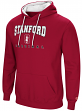 Stanford Cardinal NCAA Playbook Pullover Hooded Men's Sweatshirt - Red
