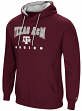 "Texas A&M Aggies NCAA ""Playbook"" Pullover Hooded Men's Sweatshirt - Maroon"