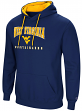 "West Virginia Mountaineers NCAA ""Playbook"" Pullover Hooded Men's Navy Sweatshirt"