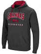 "Arkansas Razorbacks NCAA ""Playbook"" Pullover Hooded Men's Sweatshirt - Charcoal"