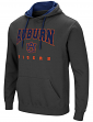 "Auburn Tigers NCAA ""Playbook"" Pullover Hooded Men's Sweatshirt - Charcoal"