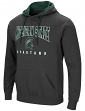 Michigan State Spartans NCAA Playbook Pullover Hooded Men's Sweatshirt - Charcoal